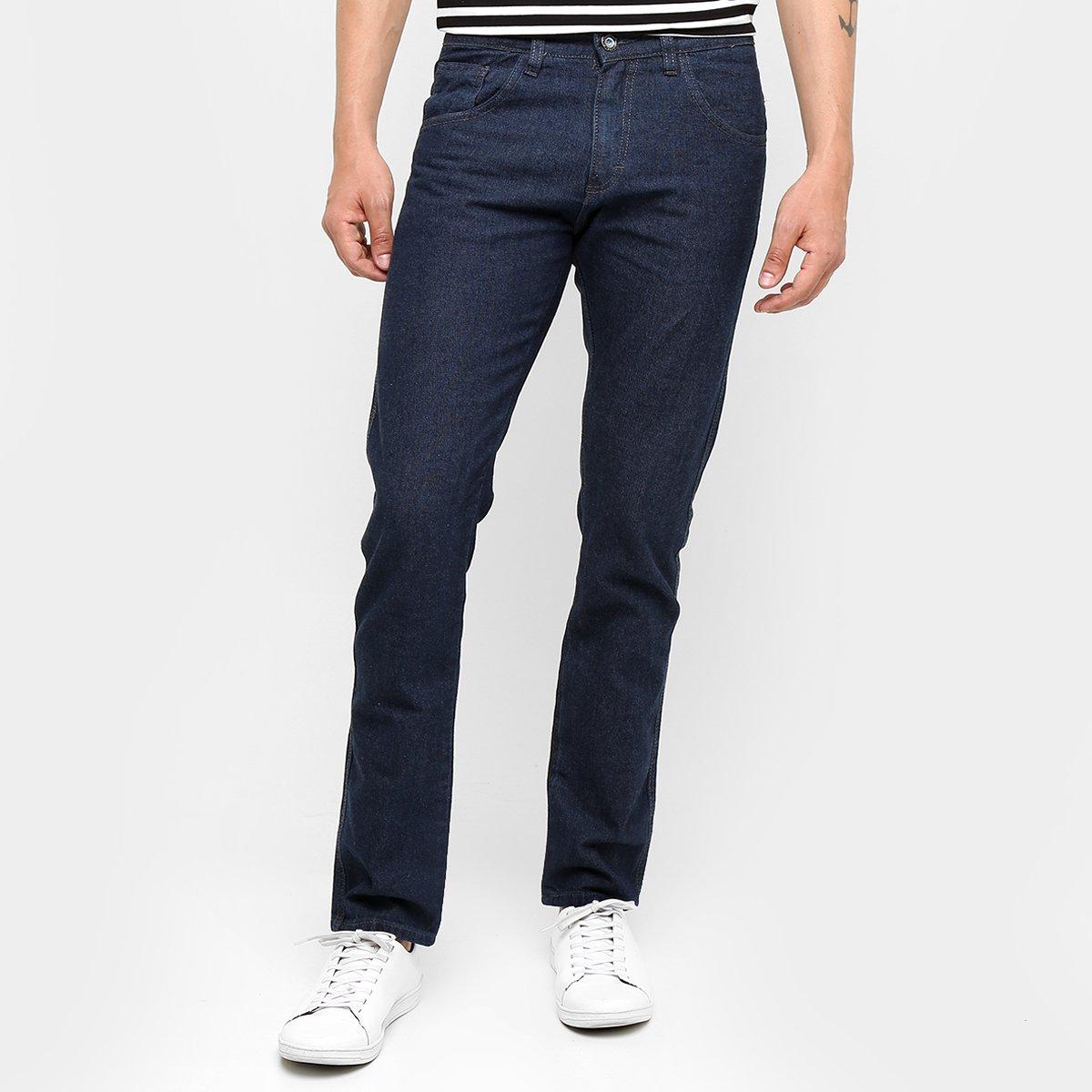 Calça Jeans Preston Tradicional Escura Masculina