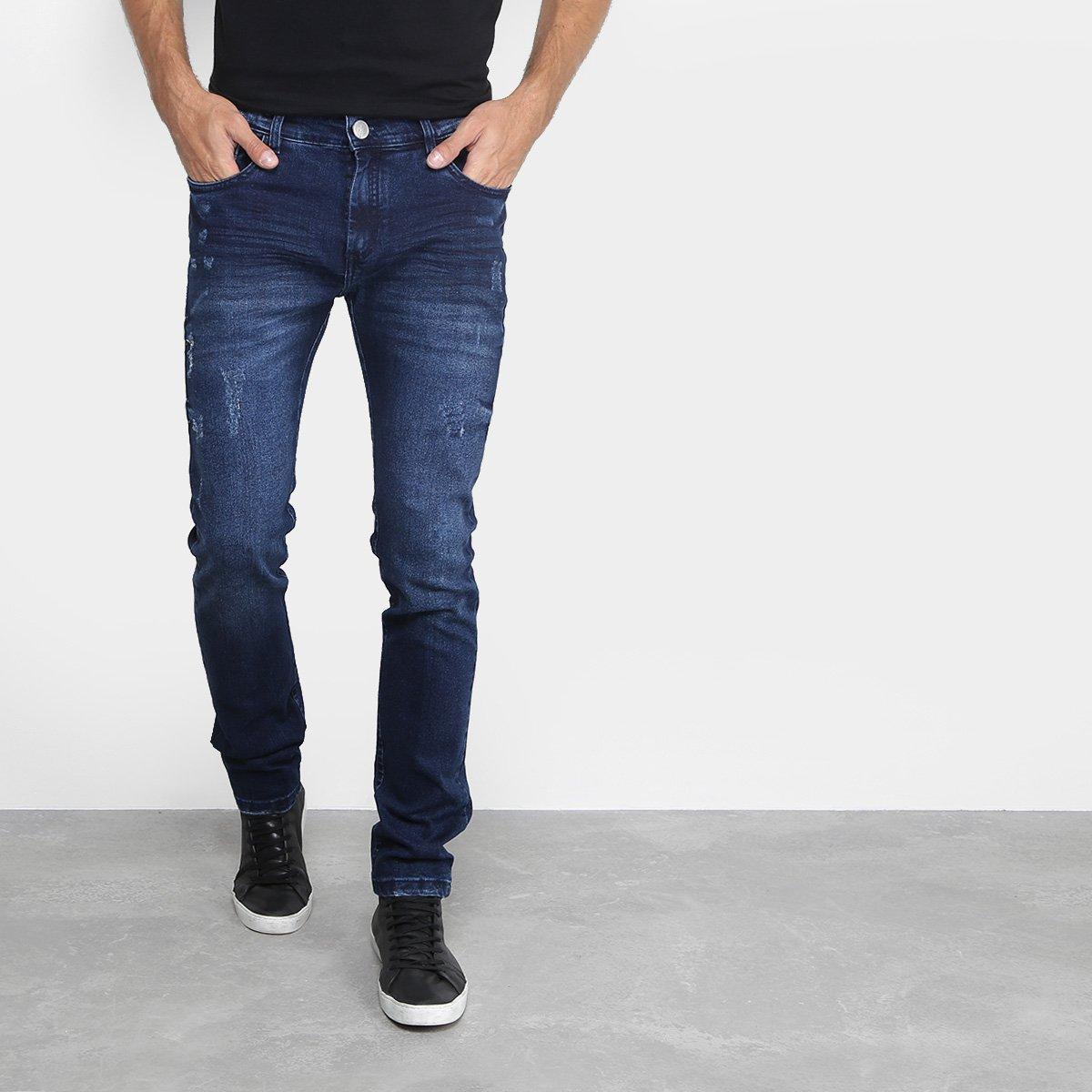 58583657e Calça Jeans Preston com Puídos Masculina
