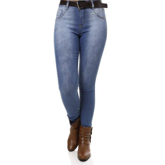 9a51124b5 Calça Jeans Pisom Feminina - Jeans - Compre Agora