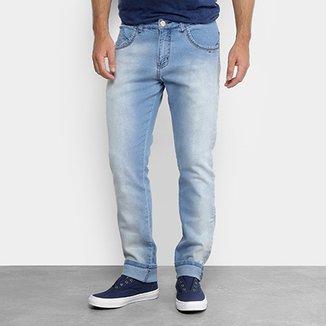 Calça Jeans Slim Zamany Masculina bf07706cf935d