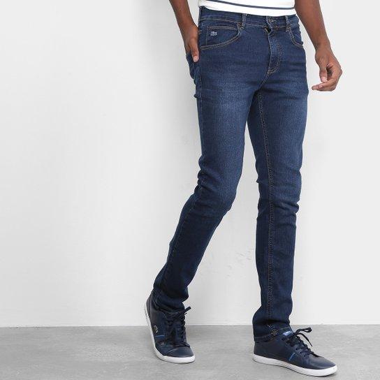 Calça Jeans Skinny Lacoste Live Masculina - Compre Agora   Zattini f147eb8000