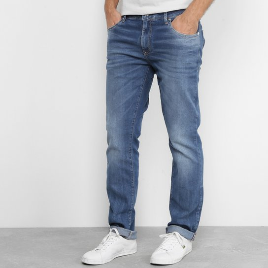 88036b771cc Calça Jeans Skinny Lacoste Live Fit Stone Masculina - Jeans - Compre ...