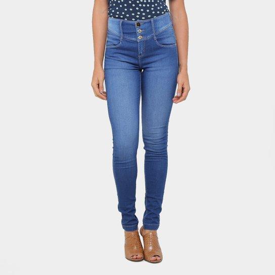 6db04d11b Calça Jeans Skinny Morena Rosa Andreia Cintura Média Feminina - Jeans
