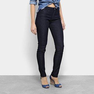 bac3f5044 Calça Jeans Skinny Morena Rosa Andreia Básica Cintura Média Feminina