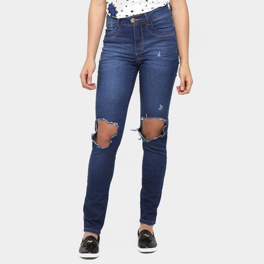 092ecb56c Calça Jeans Bana Bana Skinny Rasgo Joelho | Zattini