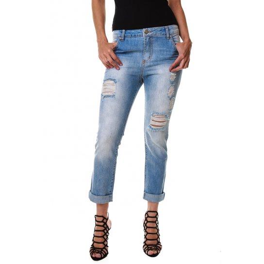 454ff40d0 Calça Boyfriend Clara - Jeans - 48 | Zattini