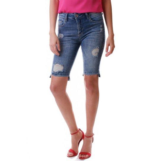 4059ef54d Bermuda Multi Ponto Denim Ciclista - Jeans - Compre Agora | Zattini