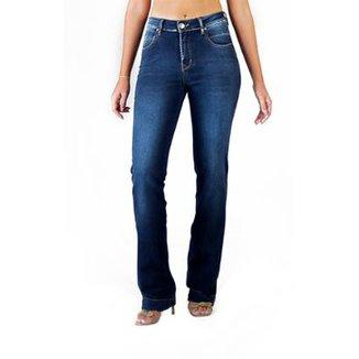 3813b951b Calça Jeans Multi Ponto Denim Reta
