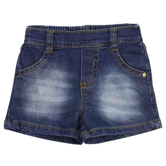 4ffb6d54623987 SHORTS JEANS PARA BEBÊ PARAISO MODA BEBÊ - Jeans