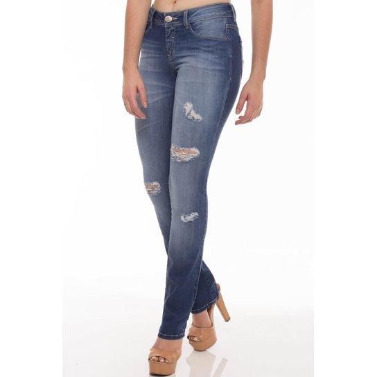 Calça Jeans Slim Fit Osmoze Feminina - Compre Agora   Zattini 4adca8d562