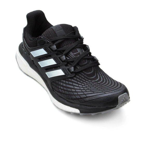 Tênis Adidas Energy Boost Masculino - Preto e Branco - Compre Agora ... 80210991cb68d
