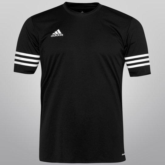 1427365b0a Camisa Adidas Entrada 14 Masculina - Preto e Branco - Compre Agora ...