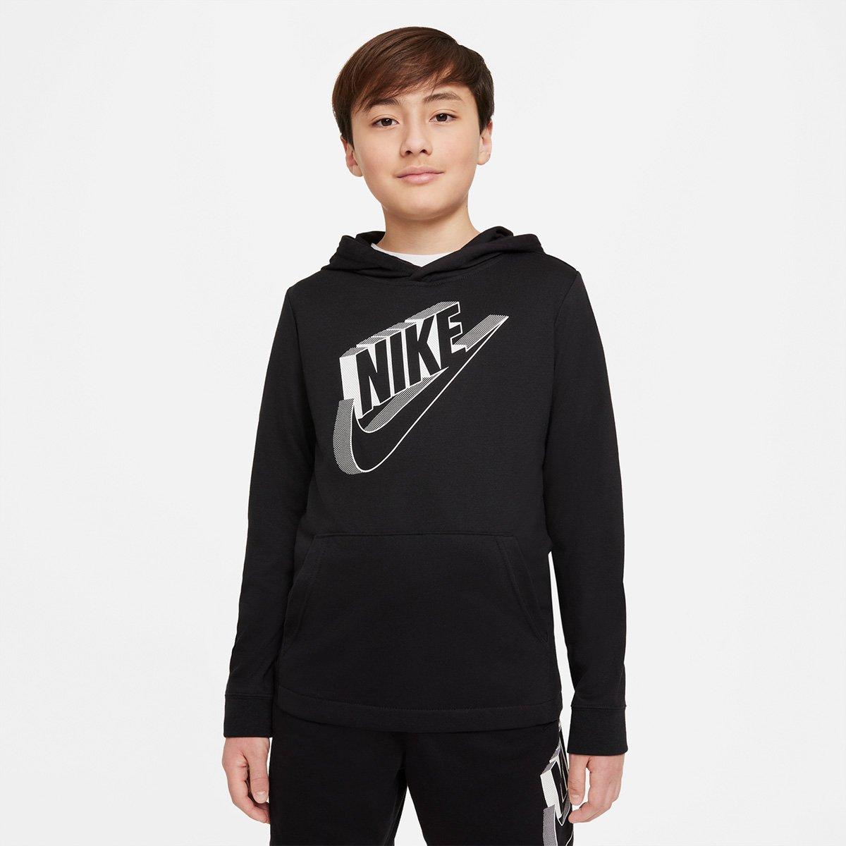Moletom Infantil Nike Sportswear Capuz Masculino