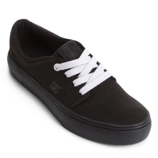 d5004737a50 Tênis DC Shoes Trase Tx Feminino - Preto e Branco - Compre Agora ...