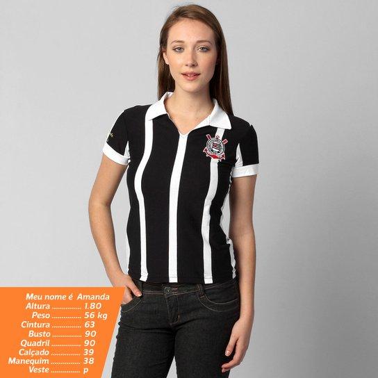 Camisa Polo Corinthians Réplica 1953 - Compre Agora  a4474f2f3939a