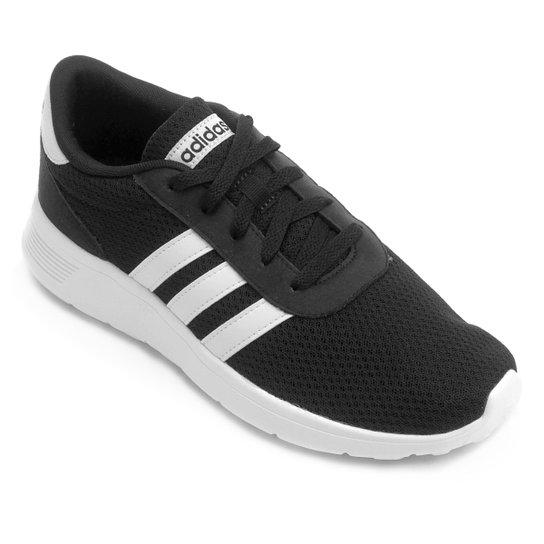 8b083f2e21 Tênis Adidas Lite Racer Masculino - Preto e Branco - Compre Agora ...