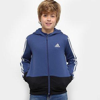 8be310b6e2e Jaqueta Infantil Adidas Yb Gu Fz Hoodie Masculina
