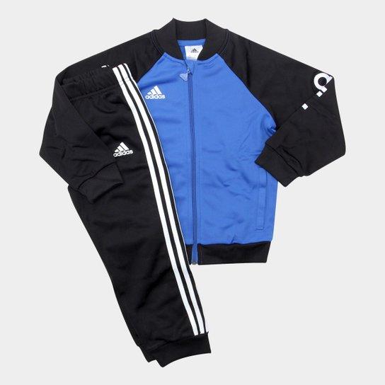 Agasalho Infantil Adidas I E Shiny - Compre Agora  765fdd6047ec8
