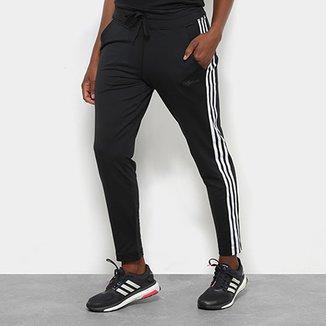 aa42ea922cc Calça Legging Adidas D2M Climalite 3 Stripes Feminina