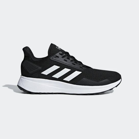 58747d327 Tênis Adidas Duramo 9 Masculino - Preto e Branco - Compre Agora ...