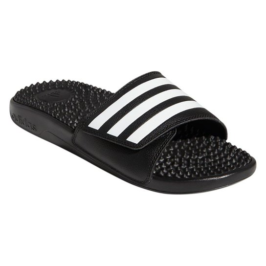 ac31ea9cfb7f Chinelo Adidas Slide Adissage - Preto e Branco - Compre Agora
