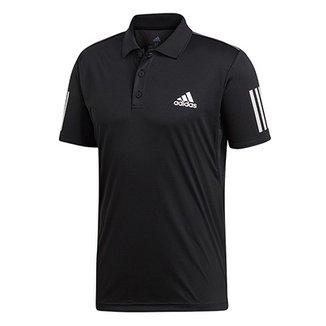a782c06f22a15 Camisa Polo Adidas Club 3 Stripes Masculina