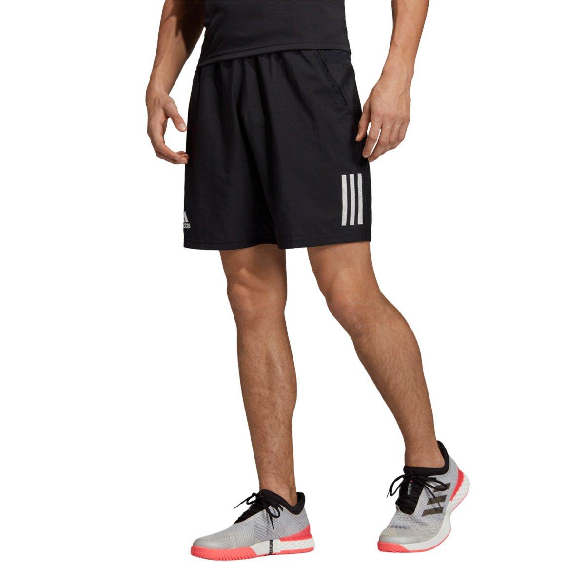 Short Adidas Club 3 Stripes Masculino