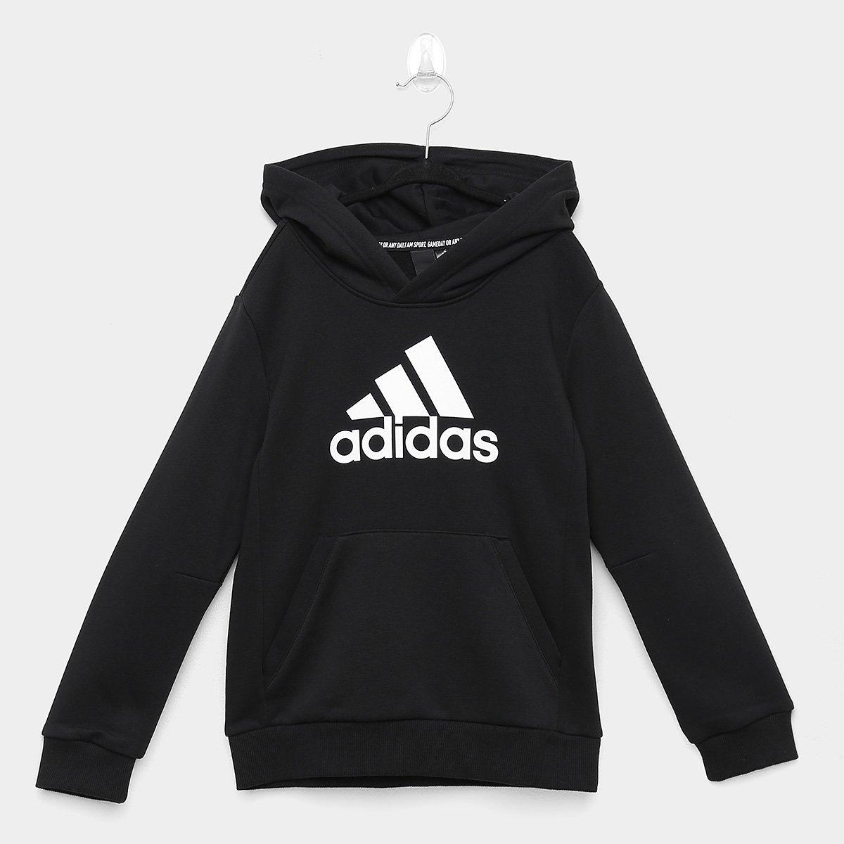Blusa Infantil Adidas Mh Bos Po Yb