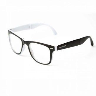 Armação de óculos Thomaston Dobrável Preto e B 4e270ae858