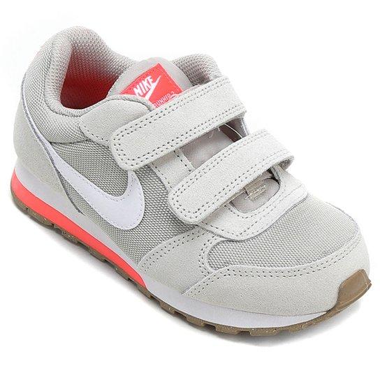 1c1b53e190d Tênis Infantil Nike Md Runner 2 - Cinza Claro - Compre Agora