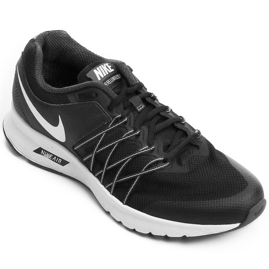 Tênis Nike Air Relentless 6 MSL Feminino - Preto e Branco - Compre ... 84202e629e904