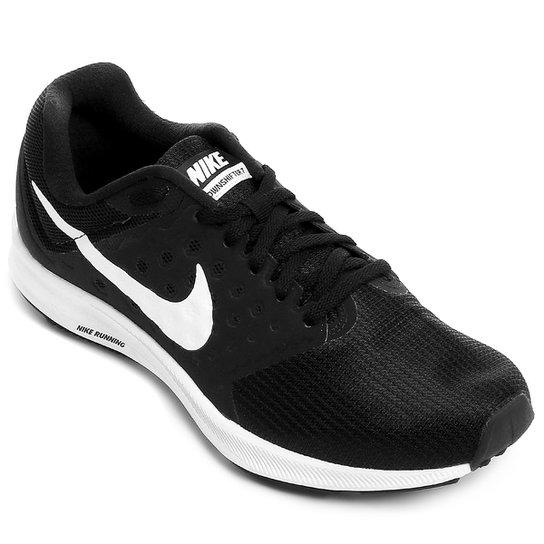 66fff804f0e Tênis Nike Downshifter 7 Feminino - Preto e Branco - Compre Agora ...