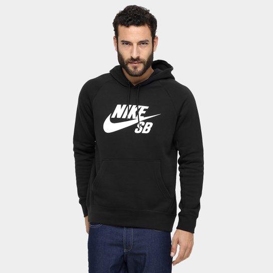 Moletom Nike SB Icon Po Hoodie Masculino - Compre Agora  5490e290d86