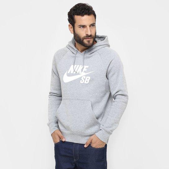 Moletom Nike SB Icon Po Hoodie Masculino - Compre Agora  617eee7f47768