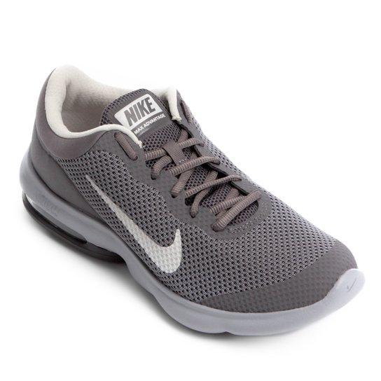 best sneakers a48e4 ba17d Tênis Nike Air Max Advantage Masculino - Cinza+Branco