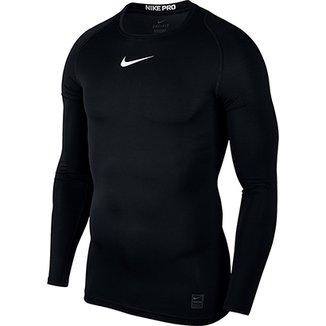 c3ccfa551 Camiseta Compressão Nike Pro Manga Longa Masculina