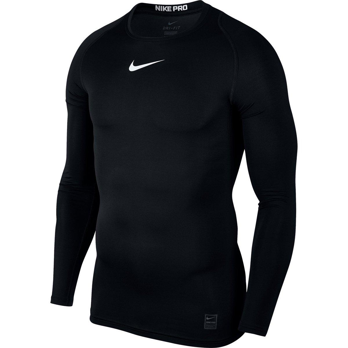 e633e1065542 Camiseta Compressão Nike Pro Manga Longa Masculina | Livelo -Sua ...
