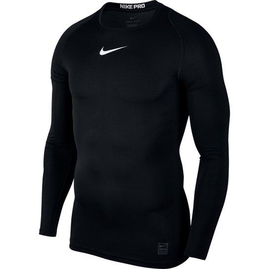 Camiseta Compressão Nike Pro Manga Longa Masculina - Compre Agora ... 767681e7e3aef