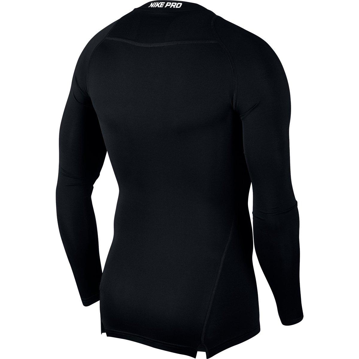 6dcdfa1158a3ab  Camiseta Compressão Nike Pro Manga Longa Masculina Livelo  -Sua . 206d6e8d4081c
