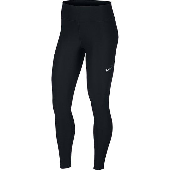 54337fa4e0ff8 Calça Legging Nike Power Victory Feminina - Preto e Branco - Compre ...