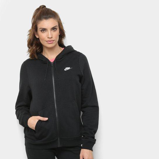 Jaqueta Nike Hoodie Fz Flc Feminina - Compre Agora   Zattini 066d18ab2d