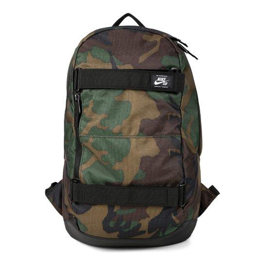 4e7e639f35c12 Mochila Nike SB Crths Bkpk Aop - Verde Militar