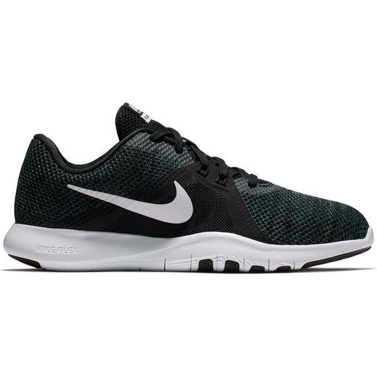 Tênis Nike Flex Trainer 8 Feminino - Preto e Branco - Compre Agora ... e82b19ca6320c