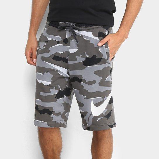 25aa82e15b Bermuda Moletom Nike Camuflada Masculina - Compre Agora