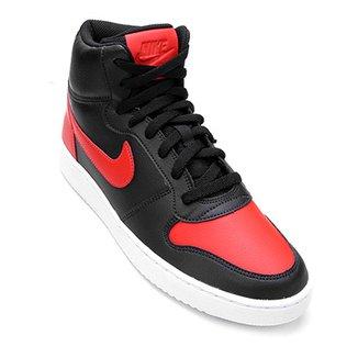 a827a621ecb Tênis Couro Cano Alto Nike Ebernon Mid Masculino