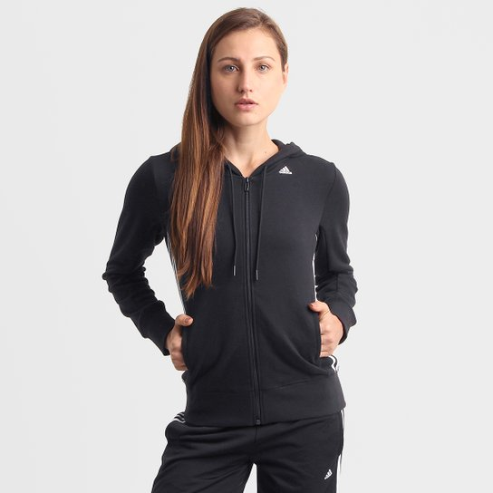 7f41dcdeae Jaqueta Adidas ESS Mid 3S Feminina - Compre Agora