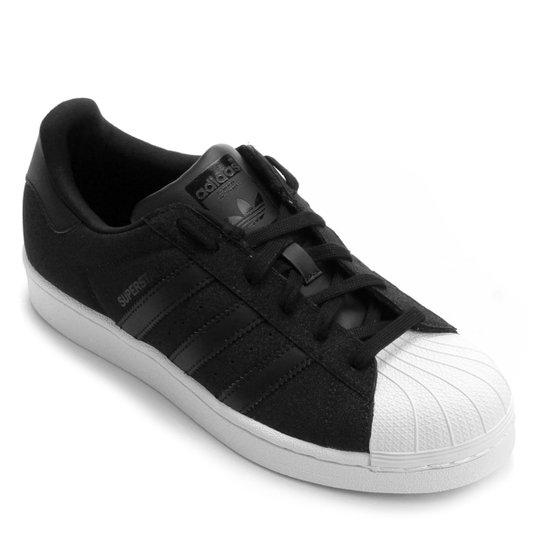 f30db2b3f47 Tênis Adidas Superstar - Preto e Branco - Compre Agora