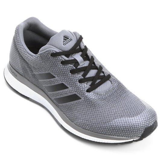 20d73b6b6ef Tênis Adidas Mana Bounce 2 Masculino - Cinza e Branco - Compre Agora ...