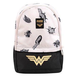 fb3e3bfe9 Mochila Puma Justice League Large Backpack Feminina
