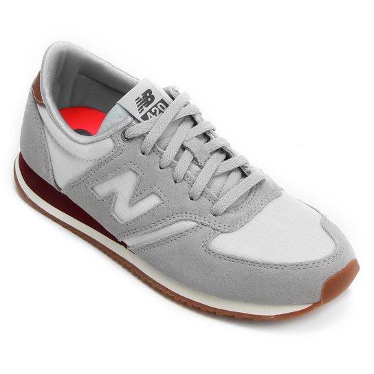 a716c5b678b Tênis New Balance W 420 Cny - Cinza e vinho - Compre Agora
